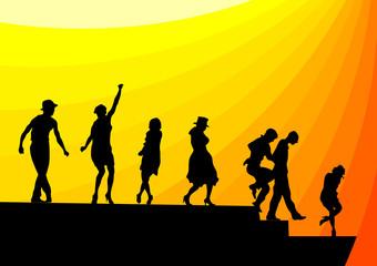 Dance people theater