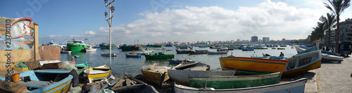 Alexandria Egypt Fishing Boats