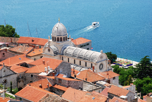Cahtedral of st. James, Sibenik, Croatia.