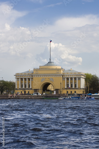 The Admiralty in St.Petersburg