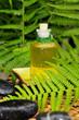 Massage Öl Flasche