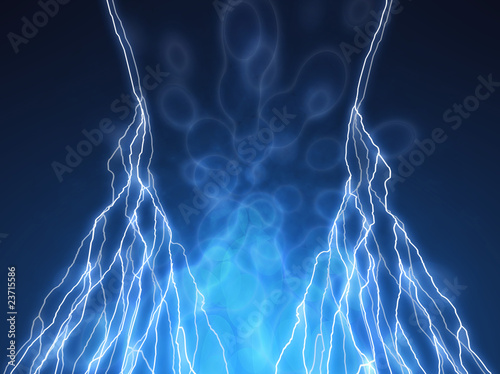abstract lightning