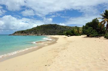 Happy bay, French St Martin, Caribbean