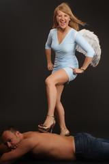 angel - winning
