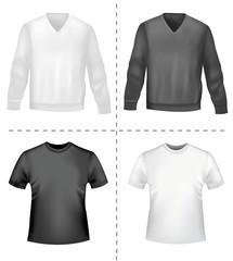 Shirts. Vector.