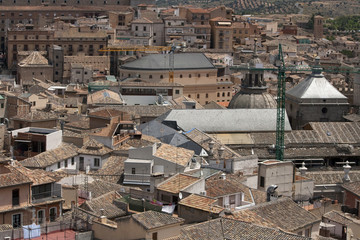 Città medievale, vista aerea