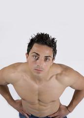 Modello muscoloso