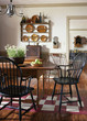 Windsor-style Chairs at Dining Table
