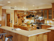Large Kitchen with Wooden Cabinetry