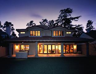 Backyard and Patio of House