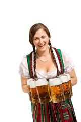 bayrisches Mädel - Bedienung