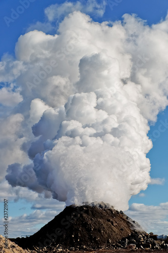 Steam volcano - 23721907