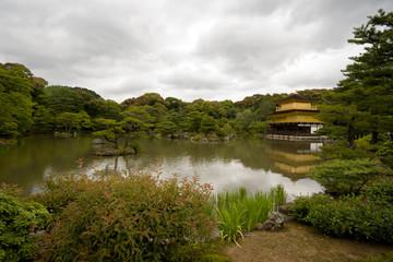 Kinkakuji Temple(Golden Pavilion) at Kyoto. Japan.