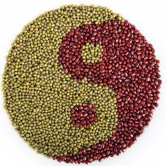 Dried Bean Yin Yang