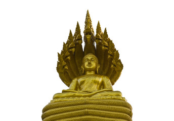 Buddha statue with 9 head nagas