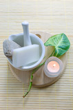 Natural resources for spa poster