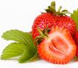 erdbeeren,makroaufnahme
