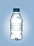purified spring mineral water poster