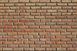 rote Backstein wand, red brick wall