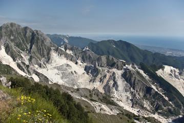 Toscana: cave di Marmo sulle Alpi Apuane