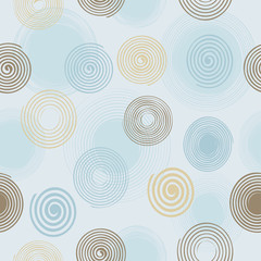 Seamless twirls pattern