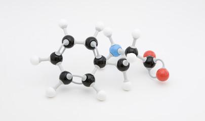 Phenylalanine Amino Acid Molecule