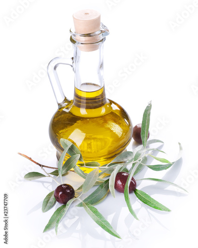 Olive Oil over white