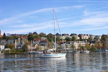 Flensburger Förde segeln