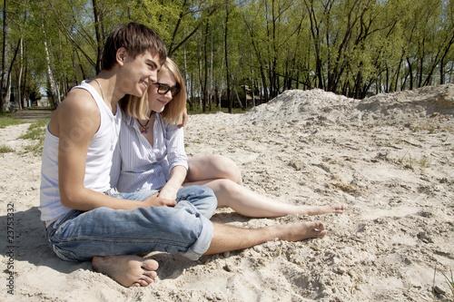 Парень с девушкой милое фото