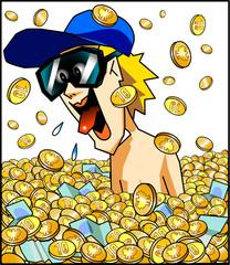 Geldregen - Geldsegen