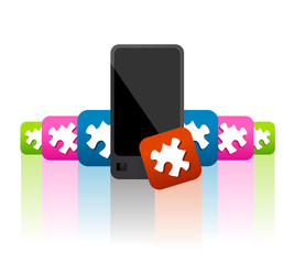 mobile phone applications and widget advertisment