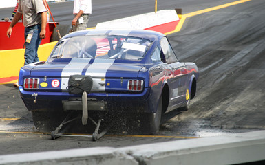 American V8 Dragster