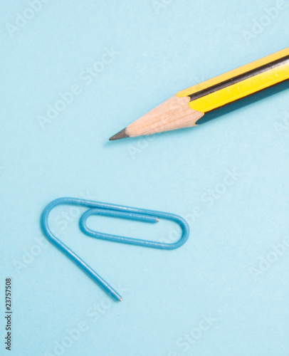 Pencil and clip