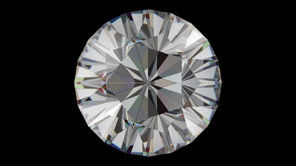 Diamond five star rotation loop
