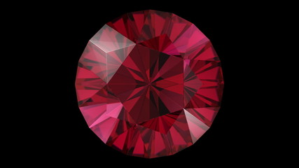 Ruby diamond five star rotation loop