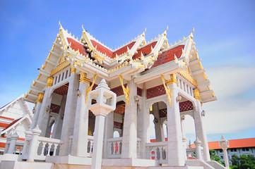 Side view of Thai pavilian