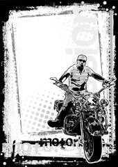 motorbike dirty background