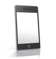 Generic Touch Screen Smart Phone Device w/ Clipping Path
