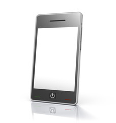 Generic Touch Screen Mobile Device w/ Clipping Path