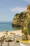Algarve - coast in Portugal
