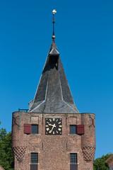 Turm in Elburg, Niederlande