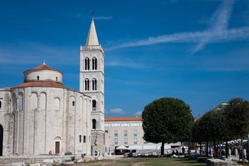 Donatuskirche in Zadar, Kroatien
