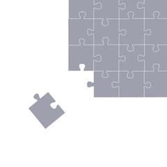 puzzle grau