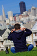 MAN in SAN FRANCISCO