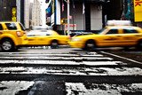 Fototapety TAXI NEW YORK