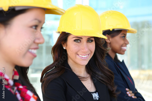 Diverse Woman Construction Team