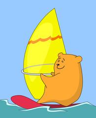 Bear-surfer