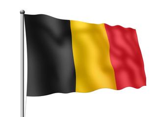 Belgien-Flagge