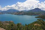 Fototapety Lac se Serre Ponçon