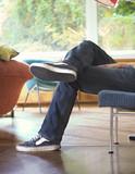 relaxing livingroom poster